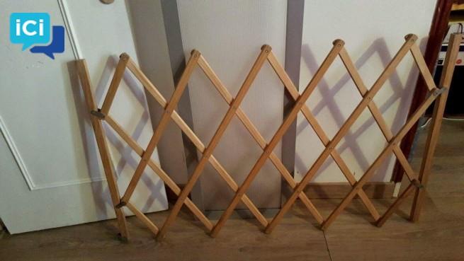 Barriere en bois pour enfant